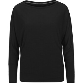 super.natural Kula Camiseta de manga larga Mujer, jet black